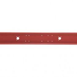 Броня задна червена L=2300мм.