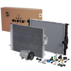 Кондензатор климатик 820x455x26mm, SCA IV/T '95> -