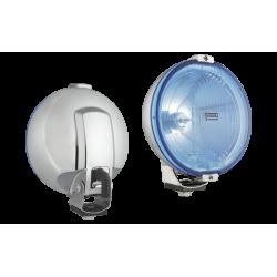 Халоген допълнителен,син, Ф183мм,LED T4W--H3/24V,с кабел 0,15м.