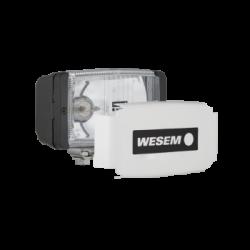 Халоген допълнителен, бял с капак 138x78мм. H3-12V/55W,24V/70W