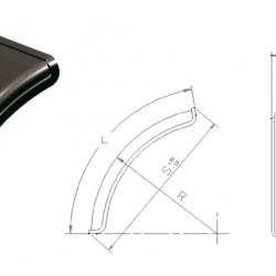Калник половинка B450 x R650 x L1060 x S 950mm; 2.7kg