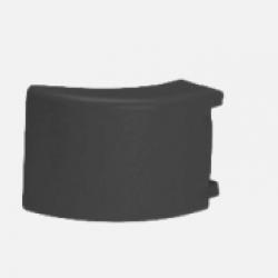 Ъгъл за страничен профил за защита 140х100х100 -Черен-