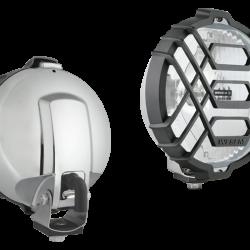 Халоген допълнителен, бял, с решетка Ф152мм., H3-12V/24V,с кабел 0,15м.