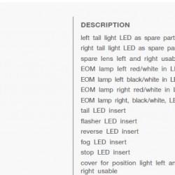 Стоп универсален диоден LED LH-Eurospoint II-