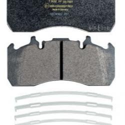 Накладки дискови с аксесоар WVA:29203/29173/29272, 216x99.6x29; VOLVO FL II(09- ) FL III(13- ); RENAULT TRUCKS Midlum(06- )