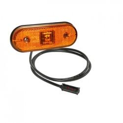 Габарит страничен диоден ,оранжев, LED, кабел:1500мм.