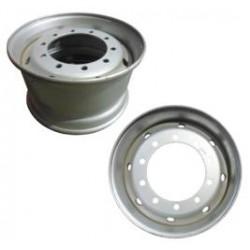 Джанта стоманена 22,5x11,75 / ET120 FI281, ремарке, за дискови спирачки