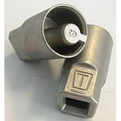 Части за щори -адаптер за обтяжна тръба Ф27 (Обикновена стомана)