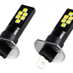 Крушка H1,LED,12/24V-К-кт. 2 броя