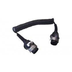 Кабел токов единичен, 24V, 7pin, ABS/EBS, 3м-4.6м, ISO 7638