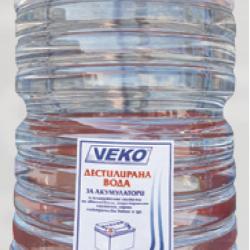 Дейонизирана вода туба 10л.
