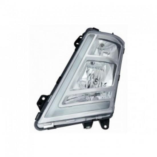 Фар главен RH, сив, LED; VOLVO FH 16 II(14- )