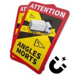 "Табела магнитна ""Невидима зона""  за камион, 25х17 см"