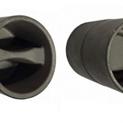 Части за щори -адаптер за обтяжна тръба ДОЛНА Ф27 (Обикновена стомана)
