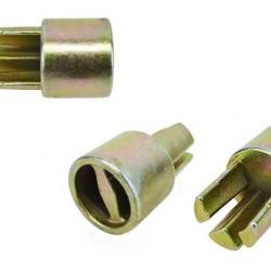 Части за щори -адаптер за обтяжна тръба Ф35 (Обикновена стомана)