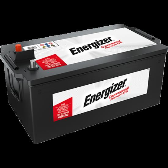 Акумулатор EFB Energizer  225 Ah / 1150 A - L518xW276xH242-
