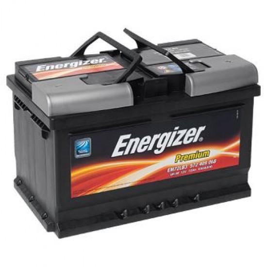 Акумулатор УСИЛЕН ENERGIZER 55 Ah SHD / 420 А -L242xW175xH190-