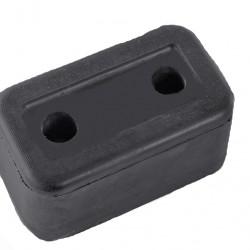 Буфер гумен за ремарке  L163 x B94 x H79 MM;  ОТВОРИ 2 x 18 / 26MM