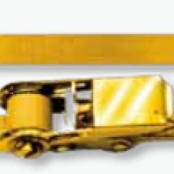 Колан за укрепване на товари 6 метра/35мм./2 тона/J-кука/с тресчотка