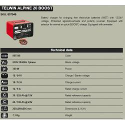 Зарядно устройство 12/24V -ALPINE20