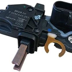 Регулатор генератор BOSCH; DAF CF 65(01-13) LF 45(01- ); IVECO EuroCargo(05-06); VOLVO FH(09- ) FH 12(95- ) FH 16(03- ) FH 16 II(12- ) FM 12(00-03); RENAULT TRUCKS Magnum(97- )