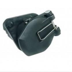 Букса токова 24V 7pin, ABS/EBS/ADR, с винтчета, за ремарке, ISO 7638-1