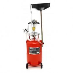 пневматична помпа за измукване на масло, осн. резервоар 80 L, малък резервоар 10 L,  Работно налягане 8-10 Pa