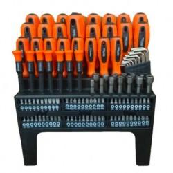 Комплект инструменти отвертки, шестограми