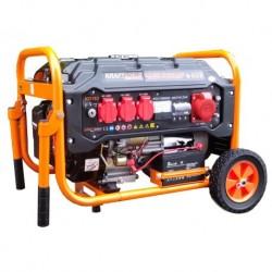 Генератор бензинов 3500W, 220V-400V, 1 бр изход 12V, резервоар 15л