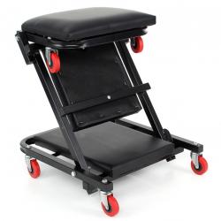 Лежанка автомонтьорска  сгъваема тип стол 106/45/15 см