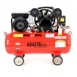 Маслен компресор за въздух 50L; 230V; 8bar; 2 бутала
