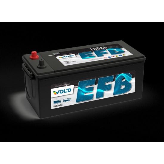 Акумулатор EFB 180AH/1100A - L513xW223xH223