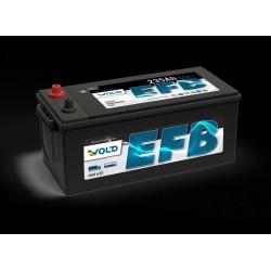 Акумулатор EFB 230AH/1250A - L514xW276xH242