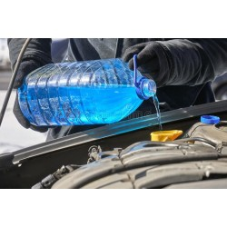 Течност за чистачки зимна, концентрат -60С / 10 литра