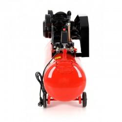 Компресор въздушен двуцилиндров 230V/50Hz, обем на бутилката 100 l, 480 l/min, 8 bar, двигател 2.8 kW